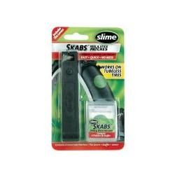Gumijavító folt SLIME SKABS 6x1 + gumiszerelő szerszám - 20027