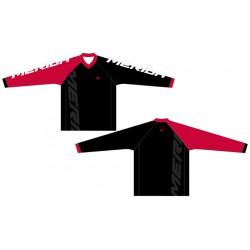 Mez MERIDA F74 hosszú piros fehér/fekete V Freeride Enduro - 740810-F45RED